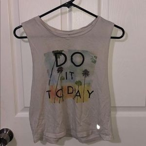 Exercise muscle tee